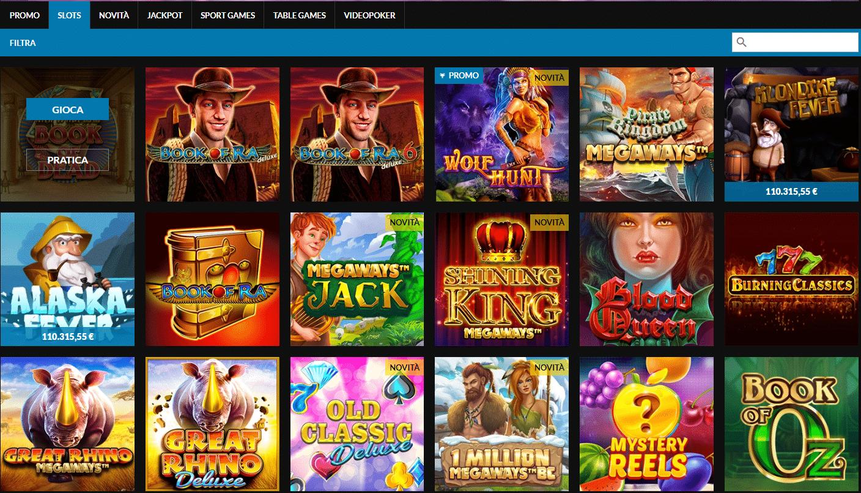 Enjoybet Slot e Giochi