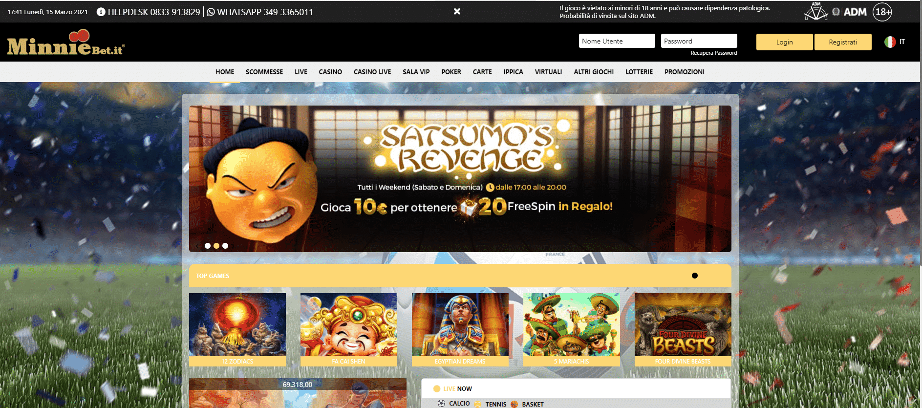 Minniebet Homepage