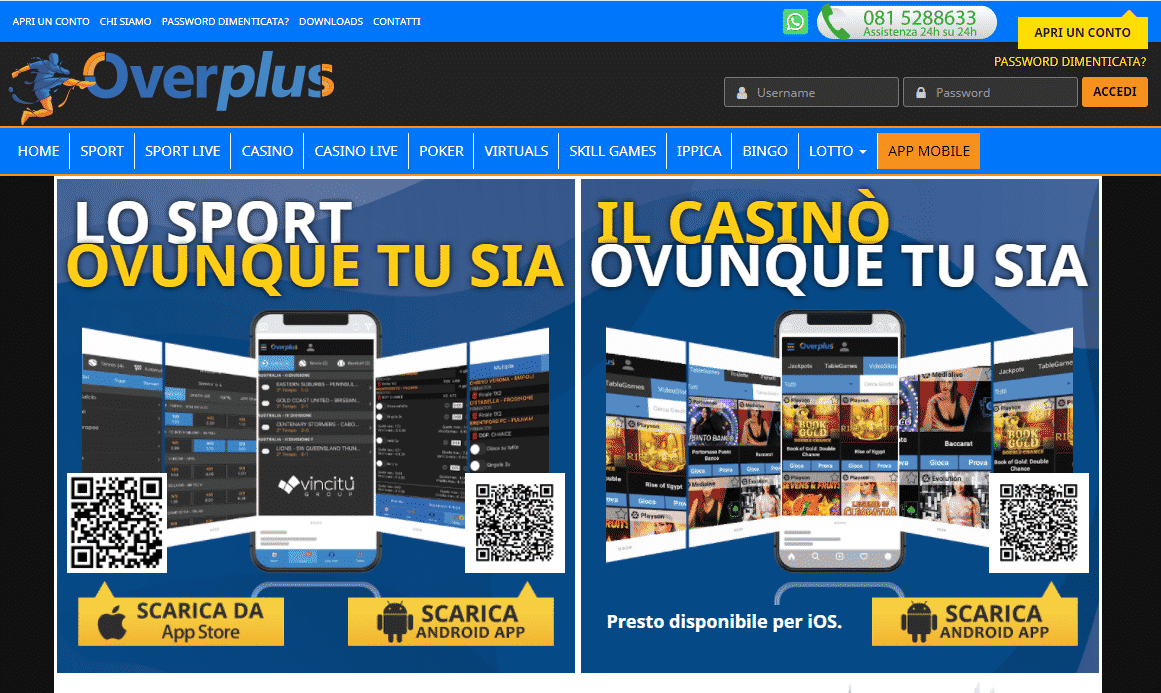Overplus App e Mobile