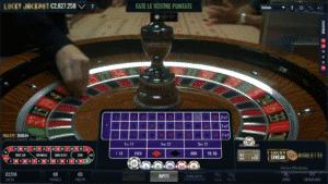 Roulette Luckystreak casinò live